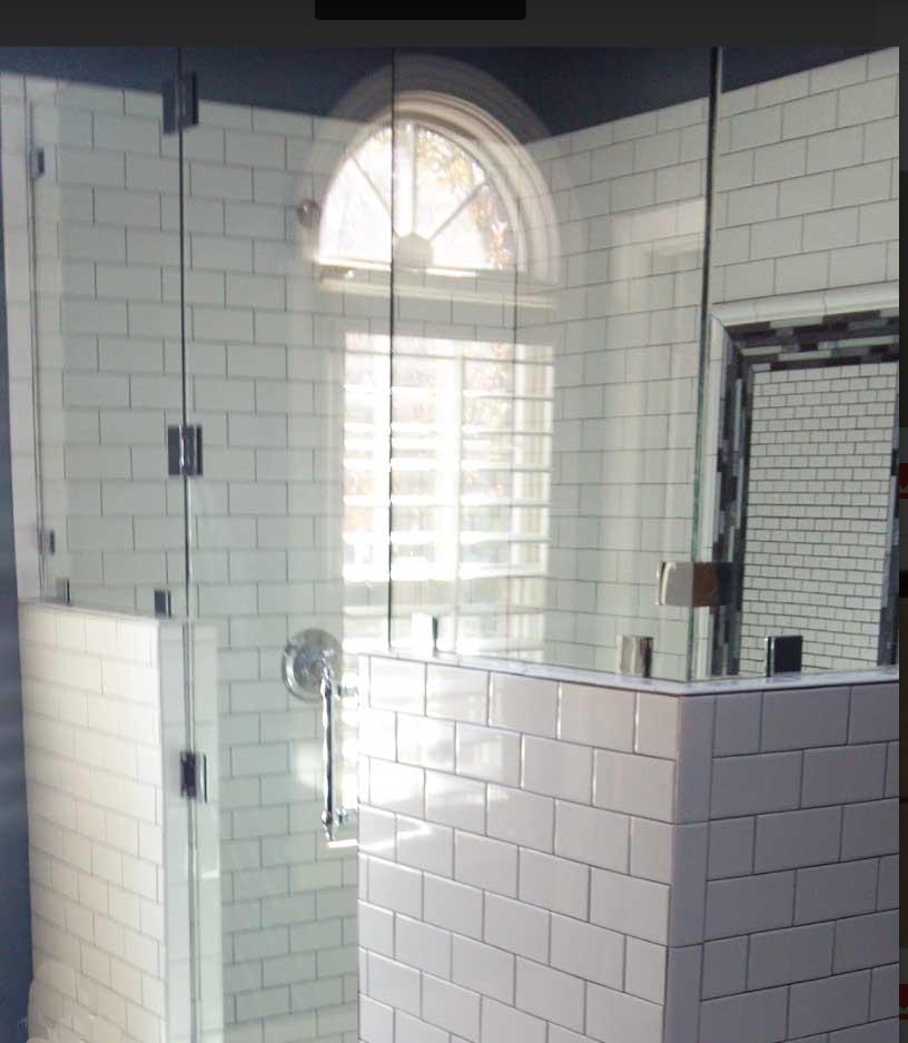 Custom shower door Smithfield NC